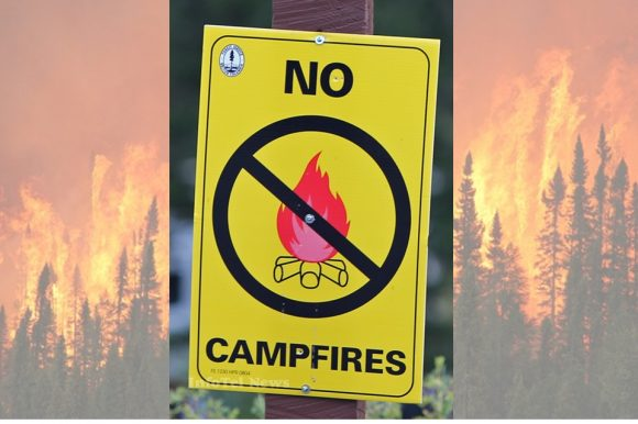 Open Burning Ban ~ Effective July 6th, 2017