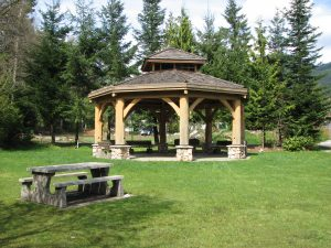 Gazebo in Summer