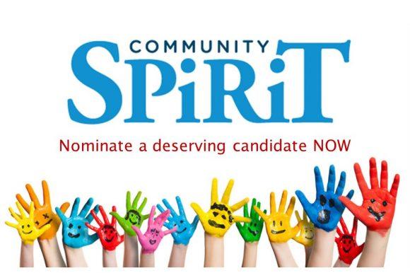 Community Spirit Award – call for nominations
