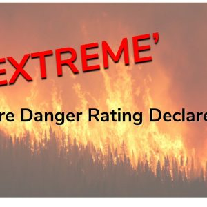 Extreme Fire Ban In Effect