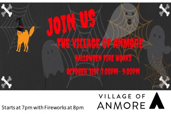 Halloween Event and Fireworks October 31st