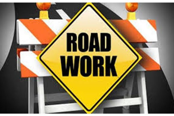 Notice of roadwork – Strong Road Repaving Oct 16-24