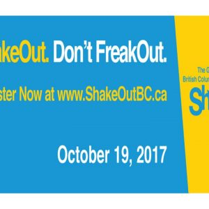 ShakeOut. Don't FreakOut!