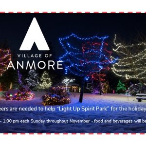 Please help to Light up Spirit Park for the holidays