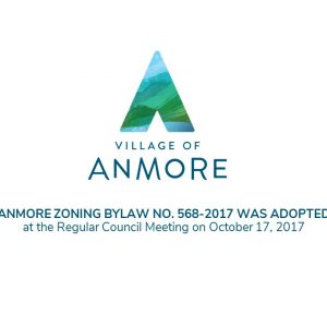 Anmore Zoning Bylaw No. 568-2017 adopted October 17, 2017