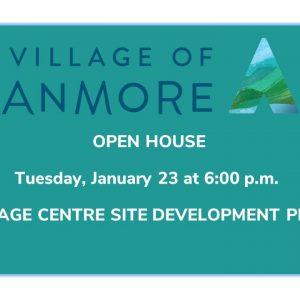 Village Centre Site Development Plan – Open House