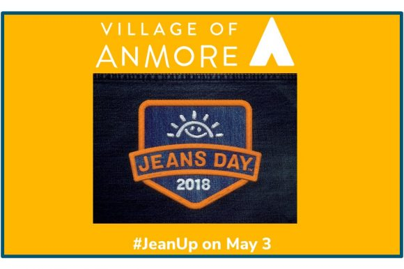 BUY A BUTTON AND #JEANUP FOR BC'S KIDS on Thursday, May 3