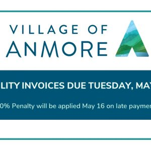 Utility Deadline ~ Tuesday, May 15