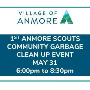 1st Anmore Scouts Garbage Clean Up Event May 31