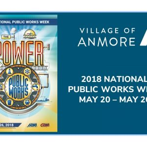 2018 National Public Works Week May 20 – 26