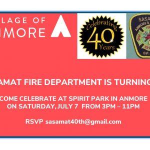 Sasamat Volunteer Fire Department 40 Year Celebration