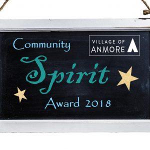 2018 Community Spirit Award