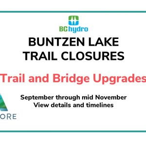 Buntzen Lake Trail Closures