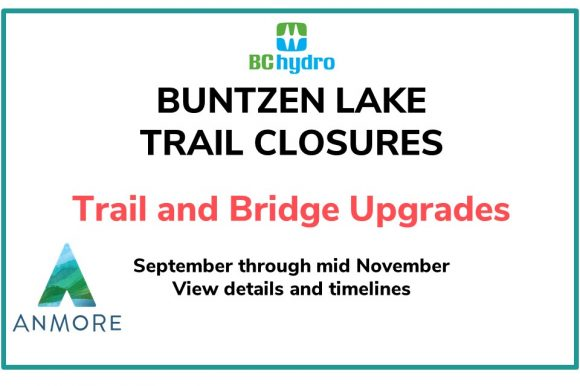 Buntzen Lake Trail Closures