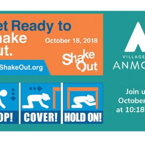 Get Ready to SHAKE OUT on October 18 at 10:18 a.m.!