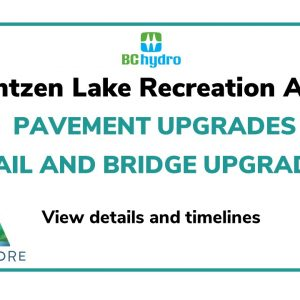 Buntzen Lake ~ Pavement/Trail/Bridge Upgrades