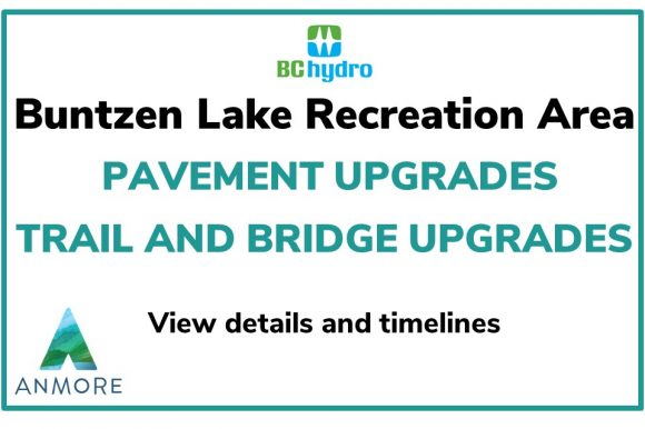 Buntzen Lake ~ Pavement/Trail/Bridge Upgrades