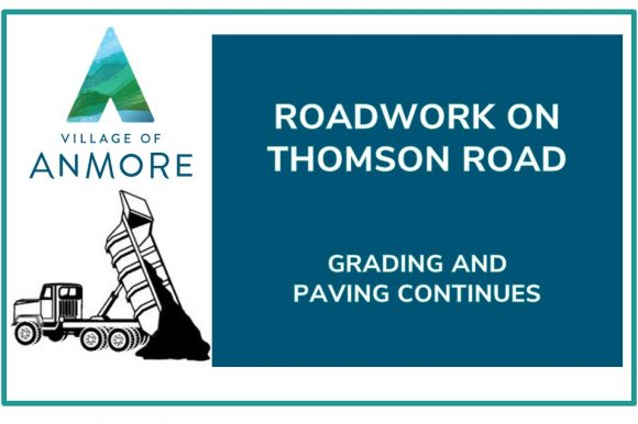 Roadwork Continues on Thompson Road