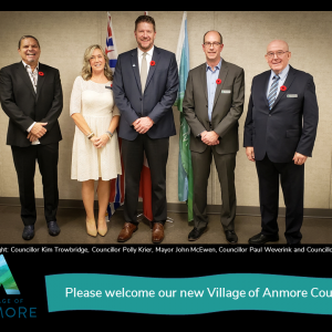 Welcome our new Village of Anmore Council