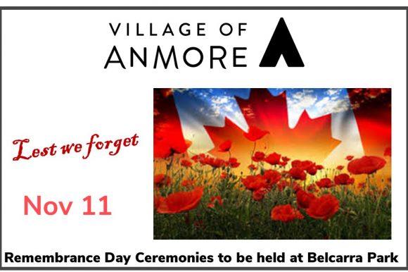 Remembrance Day Ceremonies at Belcarra Park