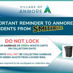 Important Notice from Smithrite Disposal