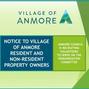 Notice to Village of Anmore Resident and Non-Resident Property Owners