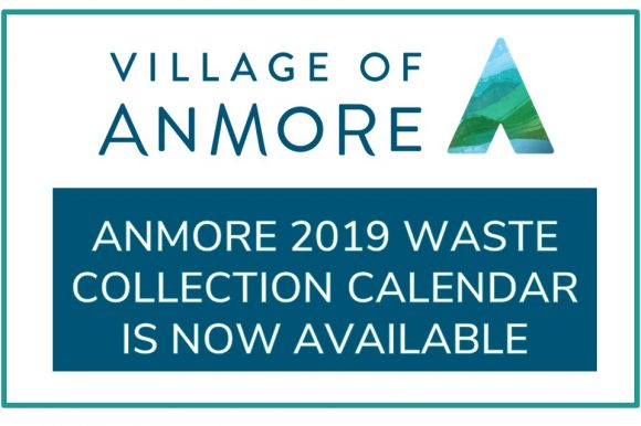 2019 Anmore Waste Collection Calendar ~ Revised Copy