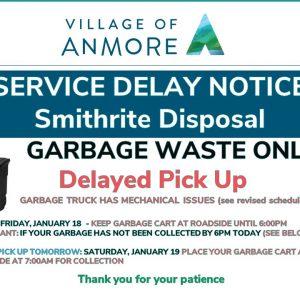 Garbage Waste Service Delay