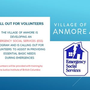 Emergency Social Services Volunteer Call Out