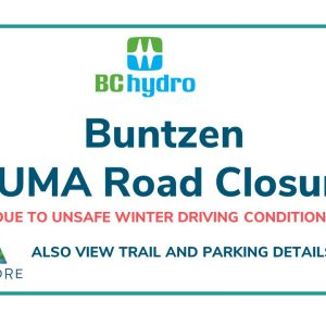 Buntzen Puma Road Closure and Update