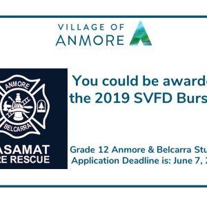 2019 SVFD Bursary