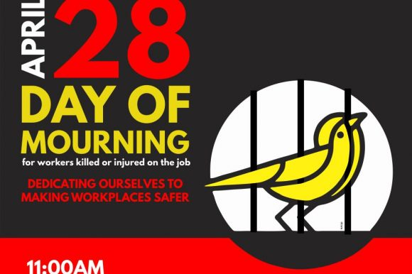 Council Proclaims Day of Mourning ~ April 28, 2019
