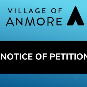 Notice of Petition