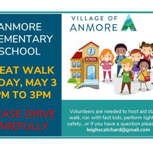 """Anmore Elementary School """"Great Walk"""" on May 3"""