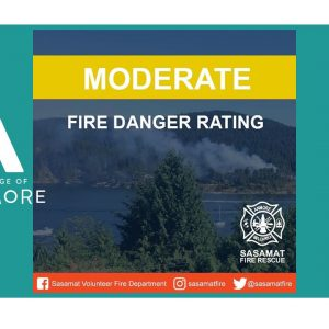 Fire Danger Rating ~ MODERATE