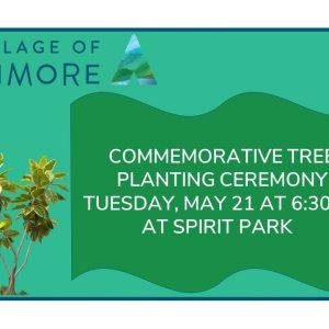 Commemorative Tree Planting Ceremony