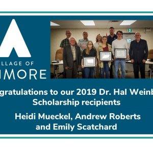 Congratulations to our 2019 Dr. Hal Weinberg Scholarship Recipients!
