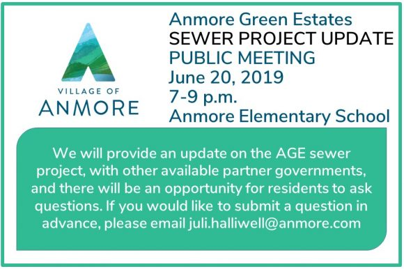 Public Meeting ~ Anmore Green Estates Sewer Project Update