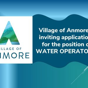 Job Posting ~ Water Operator 2