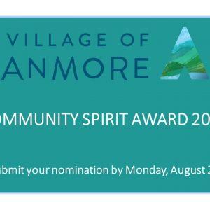 Community Spirit Award 2019