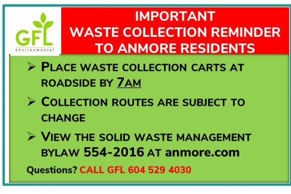 Important Waste Collection Reminder