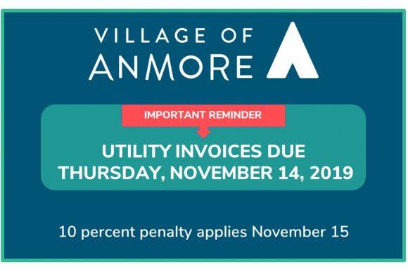 Utility Invoice Due Date November 14
