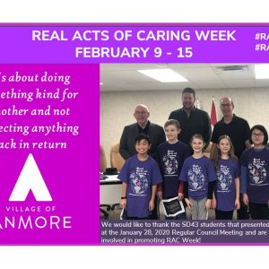 Real Acts of Caring Week   February 9 – 15