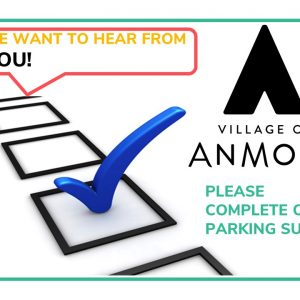 We Want to Hear From YOU! Please complete our PARKING SURVEY
