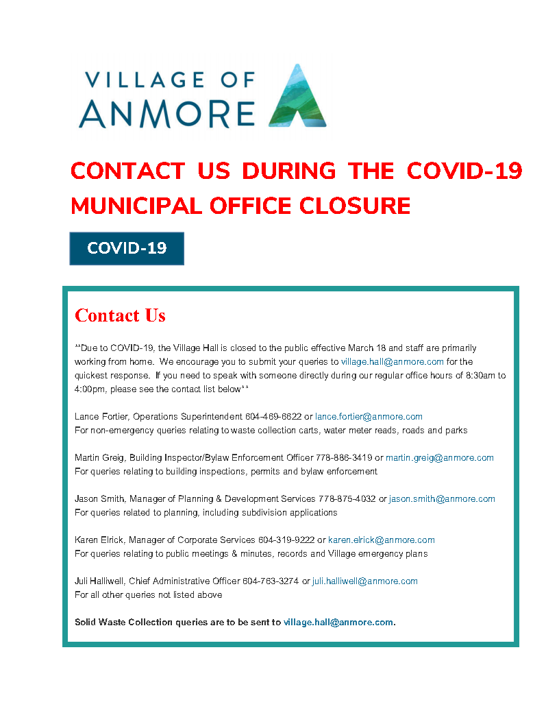 2020 CONTACT US DURING THE COVID-19 CLOSURE.2png_Page1