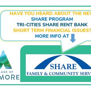 Have you heard about the new Tri-Cities Rent Bank Program?