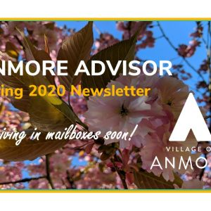 Anmore Advisor > Spring 2020 Newsletter