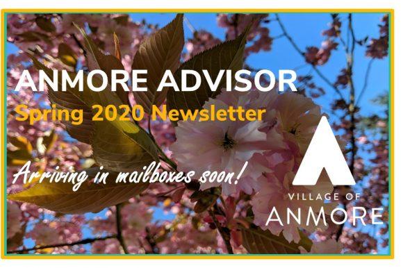 Anmore Advisor > Spring 2020 Newsletter