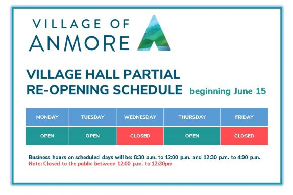 Village Hall Partial Re-opening