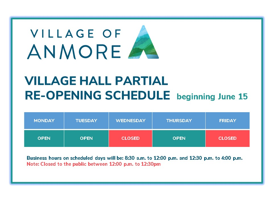 2020-06-11 Partial Reopening Schedule